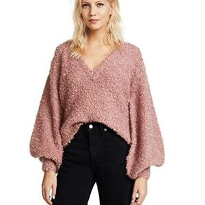 C/Meo Collective | Progression Knit Pullover Pink